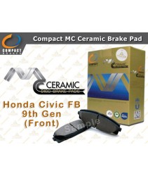 Compact MC Ceramic Brake Pad for Honda Civic FB 9th Gen (Front)