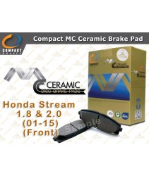 Compact MC Ceramic Brake Pad for Honda Stream 1.8 & 2.0 (01-15) (Front)
