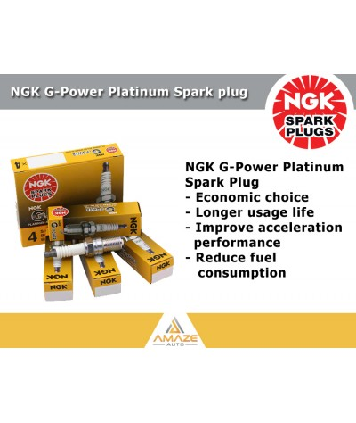 NGK G-Power Platinum Spark Plug for Chery Eastar (06-current)