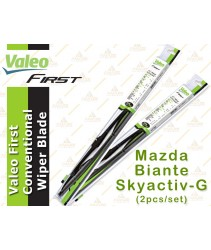Valeo First Wiper Blade for Mazda Biante Skyactiv-G (2pcs/set)