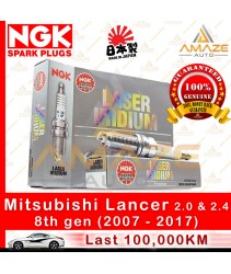 NGK Laser Iridium for Mitsubishi Lancer 2.0 & 2.4 8th gen (2007-2017)