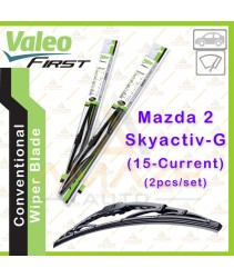 Valeo First Wiper Blade for Mazda 2 Skyactiv-G (15-Current) (2pcs/set)