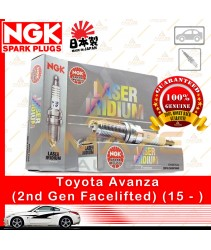 NGK Laser Iridium Spark Plug for Toyota Avanza (2nd Gen Facelifted) (2015 - )