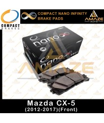 Compact Nano Infinity Brake Pad for Mazda CX-5 (12-17)(Front)