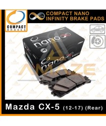 Compact Nano Infinity Brake Pad for Mazda CX-5 (12-17)(Rear) - Ceramic formula