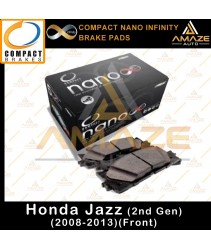 Compact Nano Infinity Brake Pad for Honda Jazz (2008 - 2013) (Front)