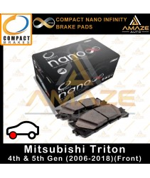 Compact Nano Infinity Brake Pad for Mitsubishi Triton 4th & 5th Gen (2006-2018)(Front)