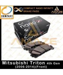 Compact Nano Infinity Brake Pad for Mitsubishi Triton 4th Gen (2006-2014)(Front)