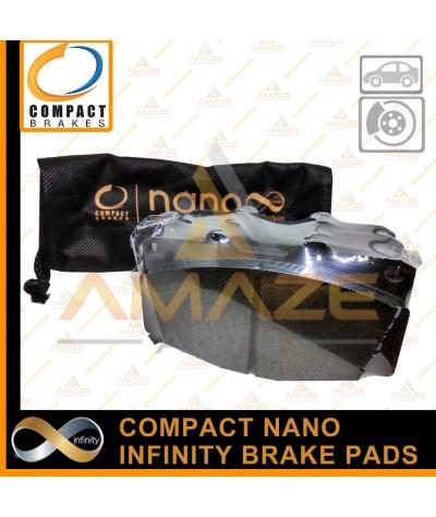 Compact Nano Infinity Brake Pad for Mitsubishi Pajero Sport (2008-2014) (Front)