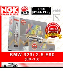 NGK Laser Iridium for BMW 323i 2.5 E90 (2009-2013) (6pcs Spark Plug)