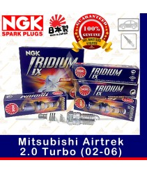 NGK Iridium IX Spark Plug for Mitsubishi Airtrek 2.0 Turbo (02-06)