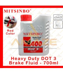 Mitsinbo Heavy Duty DOT 3 Brake Fluid (Red) (700ml/btl)