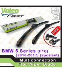 Valeo First Multiconnection Flat Wiper blade for BMW 5 Series F10 (10-17) (2pcs/set)