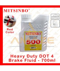 Mitsinbo Heavy Duty DOT 4 Brake Fluid (700ml/btl)