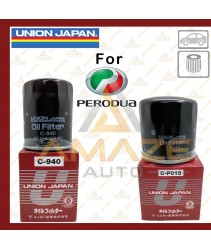 Union Japan Oil Filter for Perodua car (Myvi, Viva, Axia, Bezza, Kancil, Kelisa, Kenari and etc)