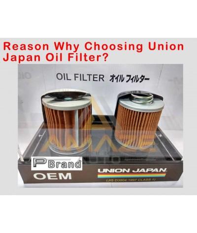 Union Japan Oil Filter for Perodua car (Myvi, Viva, Axia, Bezza, Kancil, Kelisa, Kenari and etc)