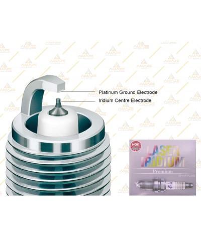 NGK Laser Iridium Spark Plug for Hyundai i30 GD 1.8 (2014 - 2018)