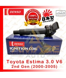 Denso Ignition Coil for Toyota Estima 3.0 V6 2nd gen (00-05) Made in Japan
