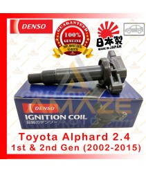 Denso Ignition Coil for Toyota Alphard 2.4 1st & 2nd Gen (02-15) Made in Japan