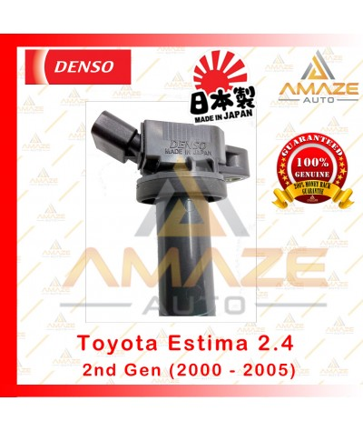 Denso Ignition Coil for Toyota Estima 2.4 2nd Gen (00-05) Made in Japan