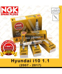NGK G-Power Platinum Spark Plug for Hyundai i10 1.1 (2007 - 2017)