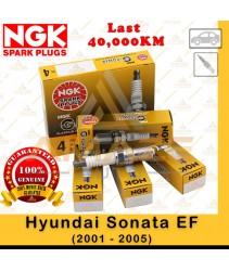 NGK G-Power Platinum Spark Plug for Hyundai Sonata EF (2001 - 2005)