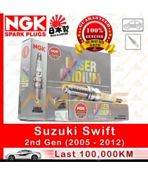 NGK Laser Iridium  Spark Plug for Suzuki Swift (2005 - 2012)