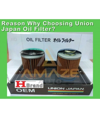 Union Japan Oil Filter for Toyota Harrier 2.0 (non-turbo) ASU60 (2013-2016)
