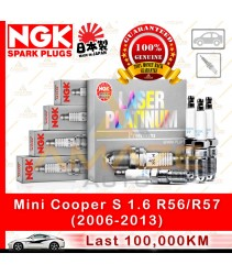 NGK Laser Platinum Spark Plug for Mini Cooper S 1.6 R56/R57 (2006-2013)