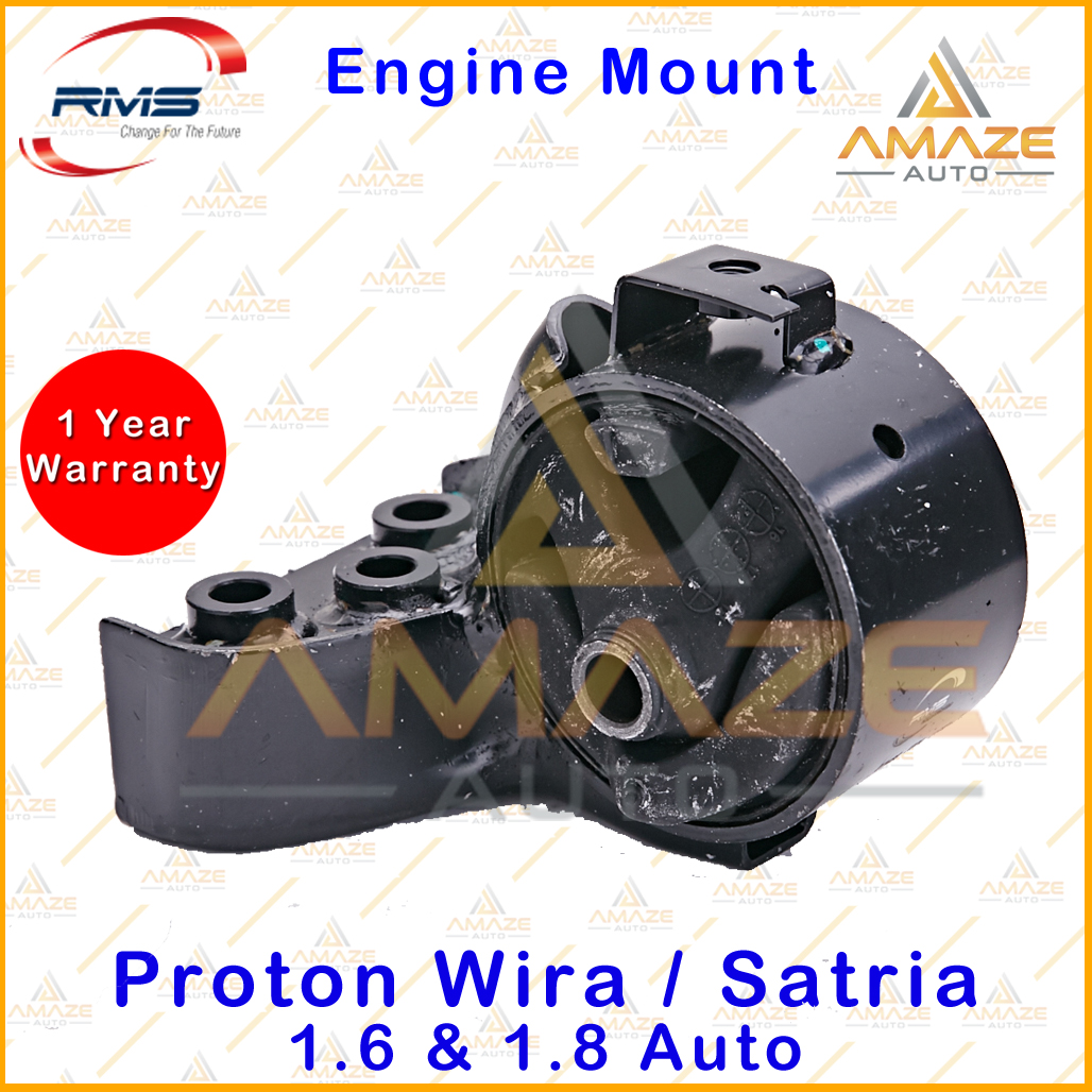 RMS Engine Mounting for Proton Wira / Satria 1.6 & 1.8 Auto (4pcs/set) - Amaze Auto Parts