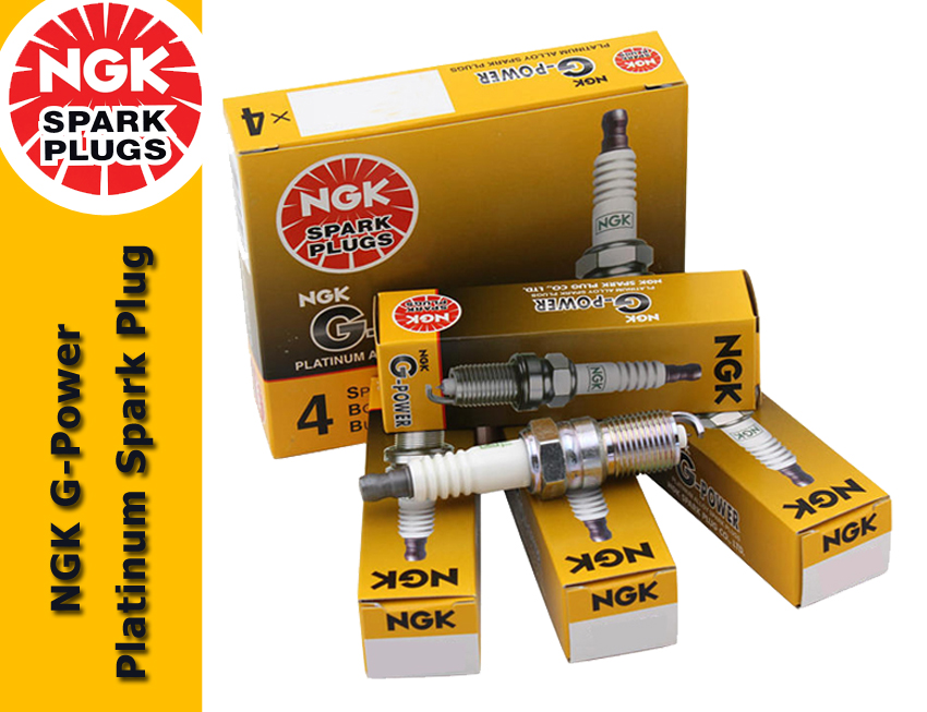 NGK G-Power Platinum Spark Plug for Nissan Cefiro 2.0 V6 A33 (3rd Gen)