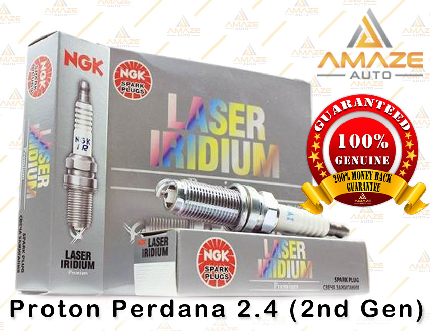 NGK Laser Iridium Spark Plug for Proton Perdana 2.4 (2nd Gen)