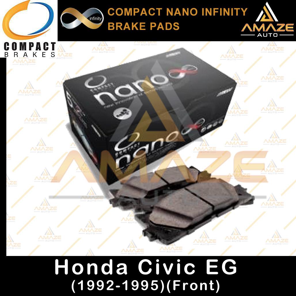 Compact Nano Infinity Brake Pad for Honda Civic EG (92 - 95) (F)