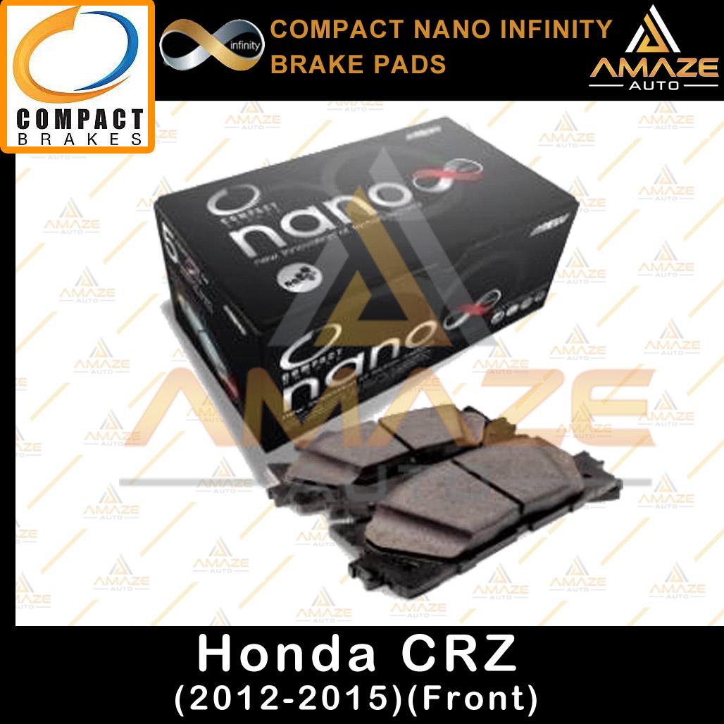 Compact Nano Infinity Brake Pad for Honda CRZ (2012-2015)(Front)
