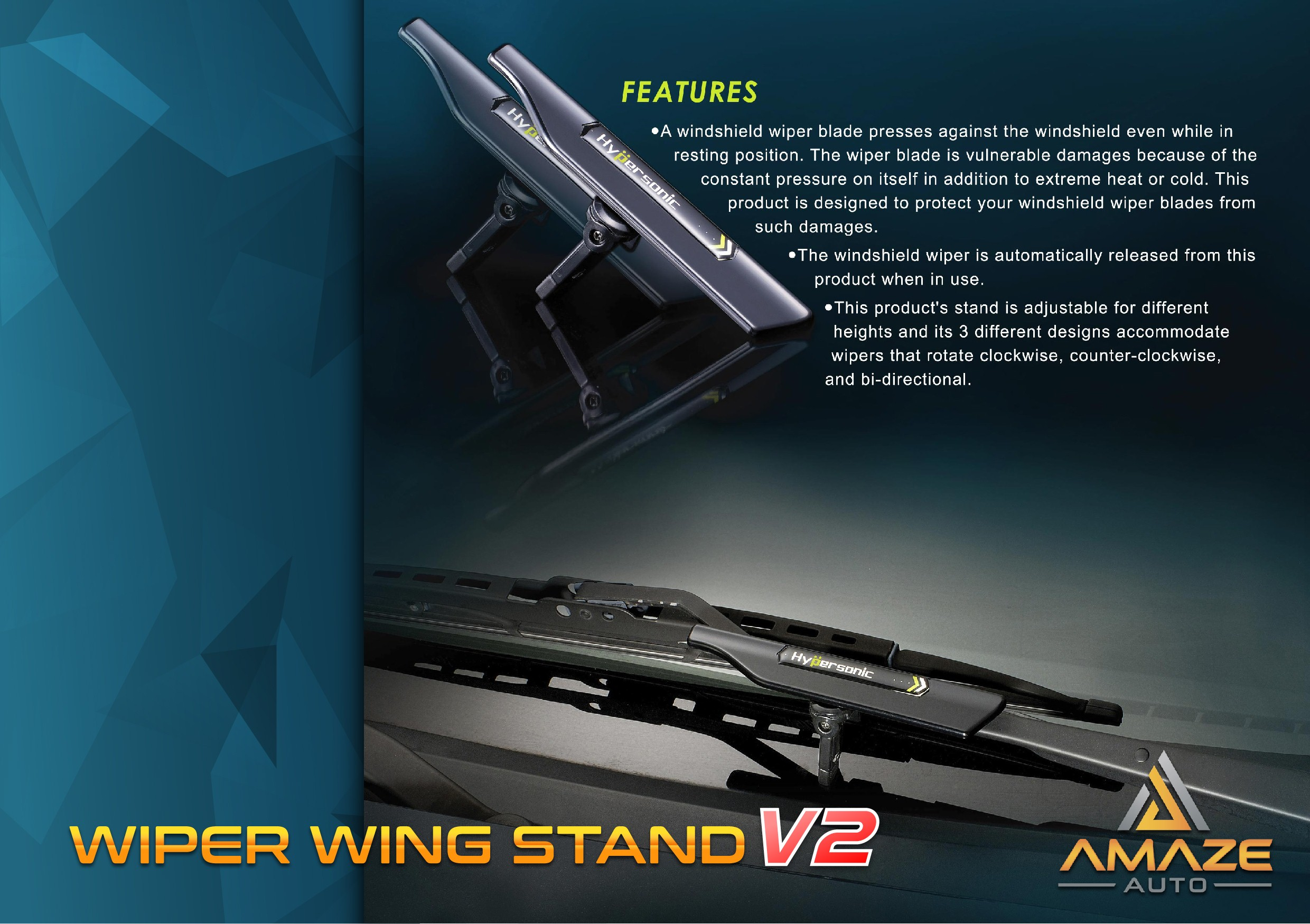 Installation Guide: Wiper Wind Stand ...